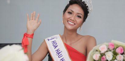 Hoa hậu H'Hen Niê lần đầu thử sức làm MC trong ngày 8/3