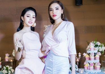 Jolie Nguyễn khoe sắc cùng Hoa hậu Kỳ Duyên
