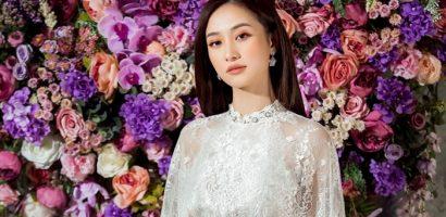 Jun Vũ khoe dáng ngọc vai ngà trong trang phục của NTK Đỗ Long