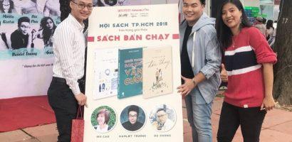Sách mới của Iris Cao và Hamlet Trương vào 'Top 10 sách bán chạy nhất Hội sách 2018'