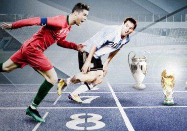 Hơn 3 tháng lịch sử cho Ronaldo và Messi