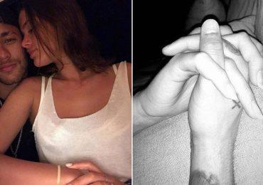 Neymar ngồi xe lăn ôm hôn bạn gái