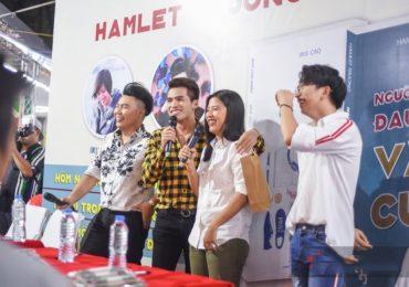 Quốc Thiên Idol, S.T (365) chúc mừng Hamlet Trương và Iris Cao có thêm tác phẩm mới