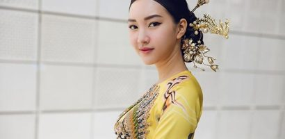 Hành trình chinh phục Seoul Fashion Week với áo dài của Hoa khôi xứ Huế