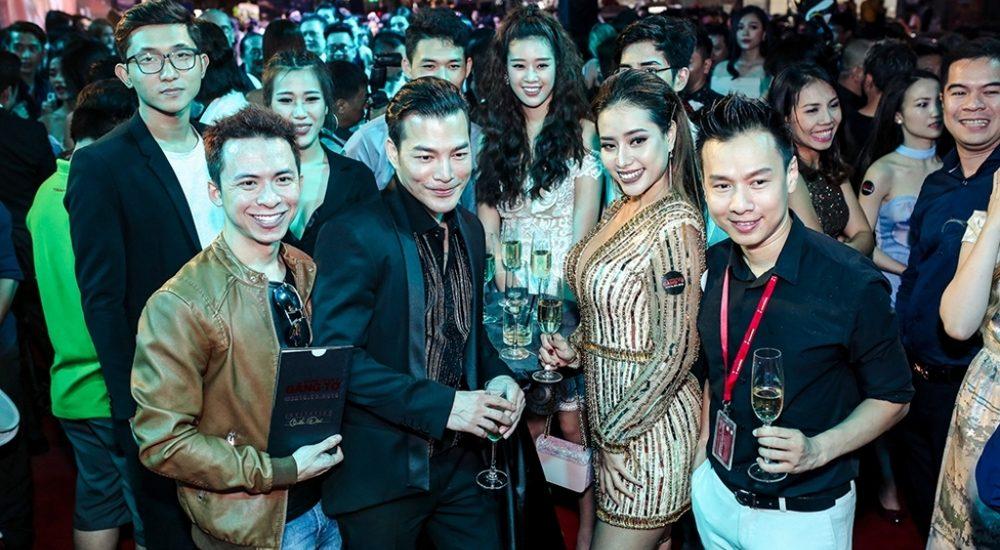 Sao Việt cùng chúc mừng Trần Bảo Sơn khi ra mắt phim mới