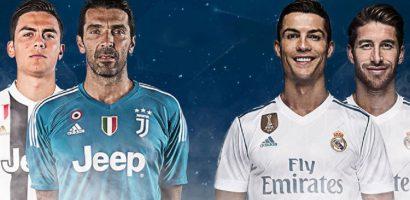 Duyên nợ trùng phùng giữa Juventus và Real Madrid