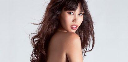 Siêu mẫu Hà Anh vẫn nóng bỏng tay ở tháng thứ 7 thai kỳ
