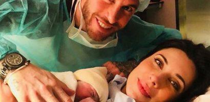 Sergio Ramos và bạn gái MC có con trai thứ ba