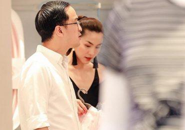 Hậu tin đồn mang thai, Tăng Thanh Hà xuất hiện với bụng 'phẳng lì' bên cạnh ông xã