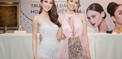 Tường Linh hào hứng gặp gỡ 'Hoa hậu thế giới 2013' Megan Young