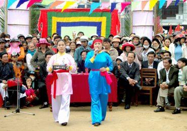 400 nghệ sĩ biểu diễn trong lễ vinh danh bài chòi
