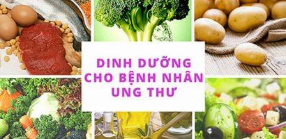 Chế độ dinh dưỡng cho bệnh nhân ung thư