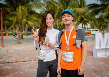 Hoa hậu Mai Phương Thúy rạng rỡ, kêu gọi mọi người chạy bộ làm từ thiện