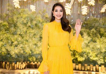Nụ cười rạng rỡ của Hoa hậu Phạm Hương khiến bao người say mê