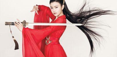 'Tiểu Long Nữ' Trần Nghiên Hy tung ảnh nữ hiệp đẹp lung linh