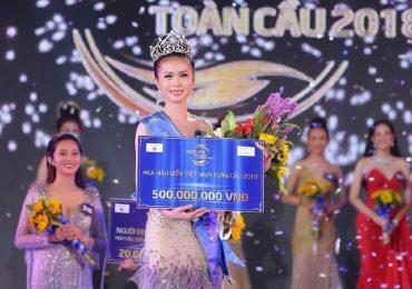Danh hiệu 'Hoa hậu Biển Việt Nam Toàn cầu 2018' gọi tên: Nguyễn Thị Kim Ngọc
