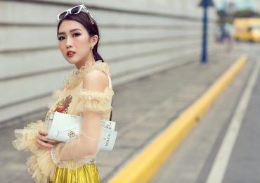 Tường Linh 'gây thương nhớ' với phong cách thời trang sành điệu