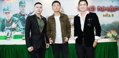Hoàng Tôn, Gin Tuấn Kiệt và Bảo Kul tham gia 'Sao nhập ngũ' mùa 5
