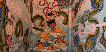 Tôn Ngộ Không, Na Tra,… trong ngôi đền ở Thái Lan