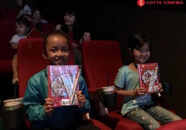 Lotte Cinema mang điện ảnh đến với trẻ em nghèo miền Trung – Tây Nguyên