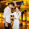 Diễn viên Bảo Thanh tình tứ cùng chồng đi sự kiện