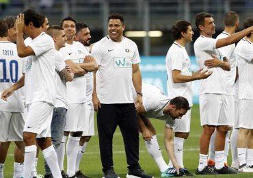 Ronaldo 'béo' cùng dàn huyền thoại dự trận tri ân Pirlo