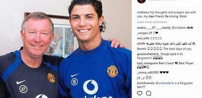 Ronaldo, Beckham cầu nguyện Sir Alex mau qua cơn nguy kịch