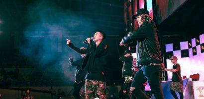 Đạt G, Masew và B Ray trình diễn hit mới 'Ngẩng cao đầu' trước hàng nghìn fan
