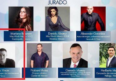 Nhà thiết kế Đức Vincie làm giám khảo vòng chung kết Miss Mexico 2018