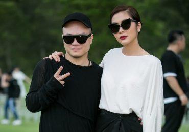 'Ngọc nữ' Tăng Thanh Hà 'trốn chồng' đi ủng hộ show diễn của NTK Đỗ Mạnh Cường