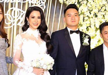 Cường Đôla – Đàm Thu Trang, Kỳ Duyên dự tiệc cưới Diệp Lâm Anh