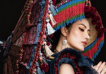 Diệu Linh chọn trang phục dân tộc H'Mông đến với 'Miss Tourism Queen International 2018'