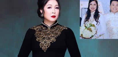 Nghệ sĩ Hồng Vân ốm nặng khi sang Mỹ dự cưới con gái đầu lòng