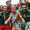 CĐV Mexico tạo động đất khi mừng trận thắng Đức