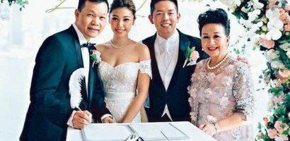 Nghệ sĩ gạo cội TVB tặng con dâu 'vàng trĩu cổ' trong ngày cưới