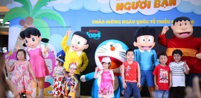Gặp lại nhân vật Doraemon cực đáng yêu tại sự kiện 'POPS Kids & Những người bạn'