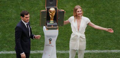 Những bóng hồng rạng rỡ trong lễ khai mạc World Cup