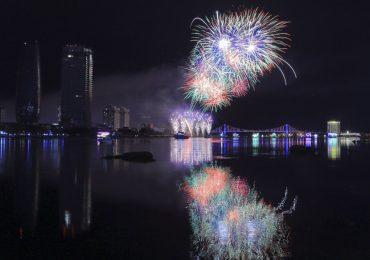 'Bữa tiệc pháo hoa' của Thụy Điển và Bồ Đào Nha tại Đà Nẵng