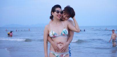 Lê Khánh được 'cưng như trứng mỏng' trong lần đầu mang thai