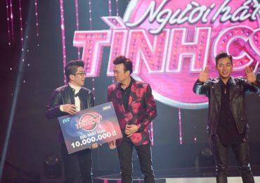Lê Vũ Phượng giành giải thưởng tuần 10 triệu đồng tại 'Người hát tình ca'