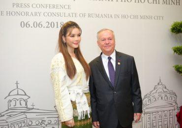 Lý Nhã Kỳ làm Lãnh sự danh dự của Rumani tại Tp.HCM