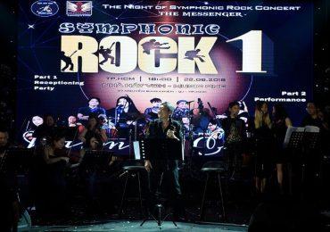 Khán giả 'sướng tai đã mắt' với các ca khúc quốc tế bất hủ trong Symphonic Rock 1