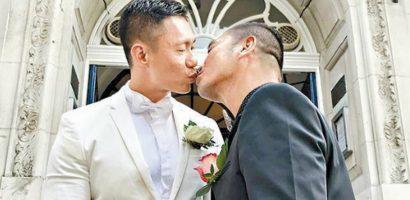 Từ bỏ sản nghiệp triệu USD, MC Hong Kong sang Anh cưới bạn đời đồng giới