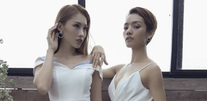 Người mẫu Cù Ngọc Quý đọ vẻ kiêu sa cùng Tô Uyên Khánh Ngọc