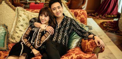 Trấn Thành và Hari Won tung bộ ảnh kỷ niệm 17 tháng hôn nhân viên mãn