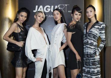 Dàn người mẫu đình đám lăng xê mốt trắng – đen tại sự kiện thời trang tóc