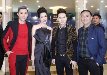 Nguyên Vũ, Phi Thanh Vân, Diễm Hương dự tiệc mừng của Hoa hậu Vũ Thị Loan