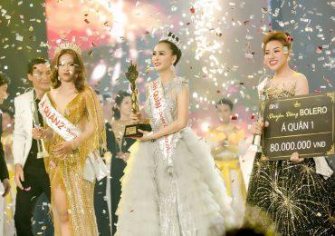 Người đẹp Trần Mỹ Ngọc giành giải quán quân 'Duyên dáng Bolero 2018'