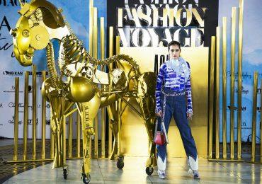 Hoa hậu Trúc Diễm toả sáng tại 'Fashion Voyage'