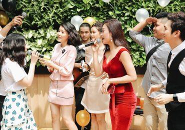 Trương Quỳnh Anh, Hà Thúy Anh, Minh Xù, Nam Thư… quẩy tưng bừng tại sự kiện